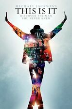 2009 Funky 5154 Michael Jackson This Is It Poster 22x34 New Fast Free Shipping