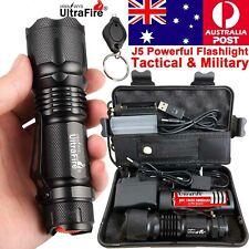 Ultrafire 350000LM Zoom Tactical CREE LED Flashlight Torch Work Light Headlamp