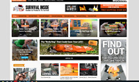 Survival Guides / Affiliate product website,100% automated -Premium designed-