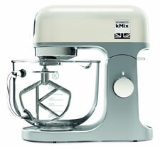 Kenwood Kmx754 5 Litres Glass Bowl kMix Stand Mixer Cool White 1000w