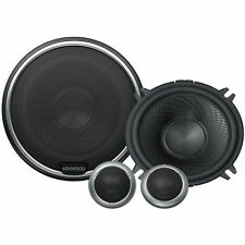 """KENWOOD 90W 5.25"""" Performance Component Car Stereo Speaker System 
