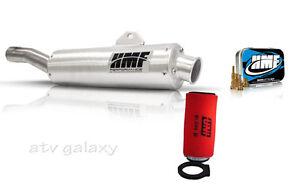 HMF Performance Slip On Exhaust + Jet Kit + Uni Filter Yamaha Grizzly 660 02-08