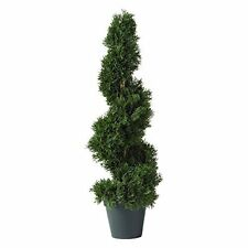 Nearly Natural 5160 Cedar Spiral Silk Topiary NEW