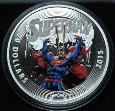 2015 CANADA $20 - 99.99 Fine SILVER Coin - ICONIC SUPERMAN Comic Book Covers #28