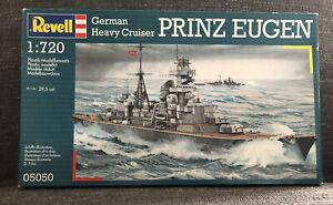 Revell German Heavy Cruiser Prinz Eugen 1:720 Plastic Model Kit 05050 New Skill3
