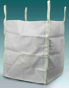 25 x 1 Tonne Bulk Bag Builders Rubble Sack FIBC Ton Jumbo Waste Storage