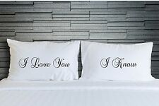 Pillowcases I Love You Bedroom Romantic Bedding Funny Adult Novelty Gift WSD756