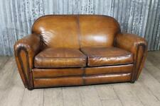 Leather Art Deco Style Sofas, Armchairs & Suites
