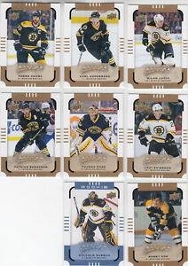 15/16 UD MVP Boston Bruins Team Set w/ SPs and RC - Orr Subban RC +