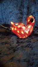 Murano Style Glass Bird