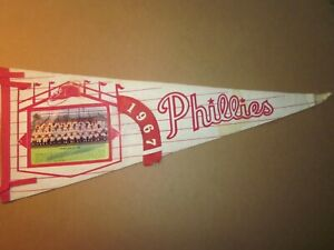 Vintage 1967 Phillies Full Size Pennant