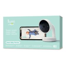 Lumi by Pampers Smart Video Baby Monitor Wifi Camera HD Video and Audio