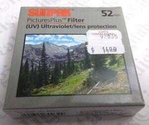 52mm UV Ultraviolet Lens Protection Filter Safety Protector 52 mm CF-7032-UV New
