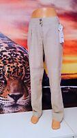 AIRFIELD  GR.42 Damen Hose Leinen beige -women's pants