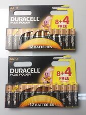 24 Duracell AA Power Alkaline Batteries Economy Pack LR6 MN1500  EXPIRES 2025