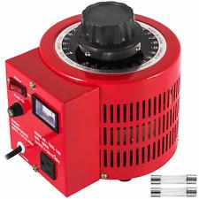 New Listingvariac Transformer Variable 1000va Ac Voltage Regulator Metered 0 130v 110v 1 Ph