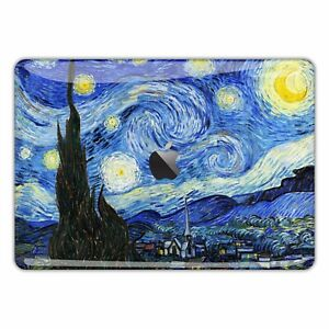 MacBook Pro Air 13 15 Skins Case Sticker Decal vinyl Van Gogh Starry Night FSM19