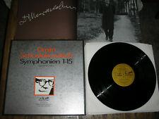 MINT 13 LP BOX Shostakovich Symphonies 1 - 15 complete melodia EURODISC German