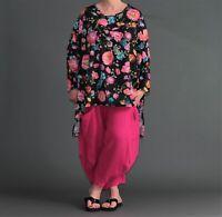 ♦AKH Shirt 44,46,48,50,52,54,56,58,60,62,64,66 schwarz-pink-blau-gelb-grün♦