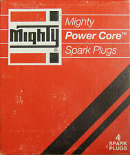 Mighty Spark Plugs #8RF82 Power Core Pack of 4 NOS