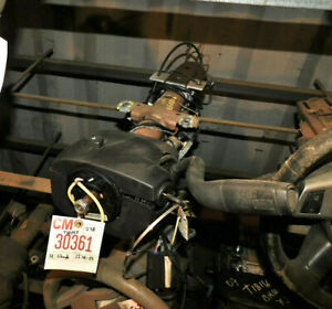 2007-2013 Chevy Silverado GMC Sierra 1500 Steering Column Shift W/Warranty Black