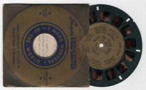 Miami and Miami Beach Florida 1938 Gold Foil Center View-Master Reel 165