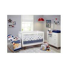 Disney Crib Bedding Nursery Sets For Boys Baby Mickey Mouse Comforter Sheet 4 Pc