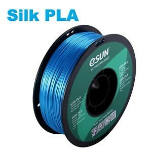 eSun Silk PLA 3D Print Filament 1.75mm 1kg Free Shipping