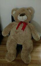 "54"" HUGE Teddy Bear Valentines Day Gift I LOVE YOU Chrisha Playful TeddyBear BIG"