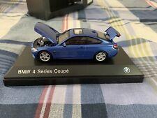 BMW 435i 4 Series Coupe F32 Estoril Blue Diecast 1/43 scale