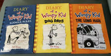 Diary of a Wimpy Kid by Jeff Kinney Long Haul,Dog Days,Rodrick Rules