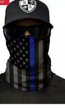 1 FACE MASK GAITER BANDANA Cover Tube Neck Scarf Headband Motorcycle USA Flag