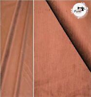 "Light Weight Premium Corduroy 100% Cotton Fabric Material 8 Wale Corduroy 58"""