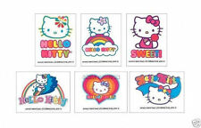 12 Hello Kitty Temporary Tattoos Kid Party Goody Loot Bag Filler Favor Supply