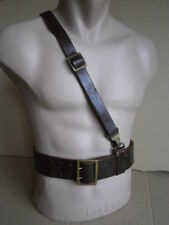 leather wide belt  German WW2 WWII