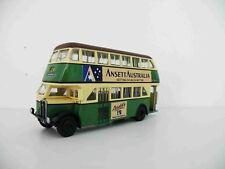 TX6K 1946 Regent Double Decker Bus Ansett Graphics Trux 1/76 Diecast