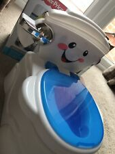 Fisher Price My Talking Potty Friend Musical Learning Sounds Toilet Training UK