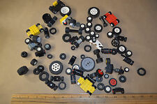 LEGO Lot of Assorted Tires and Wheels  Car Parts Motorcycle #1832