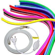 LED Neon Stripes - Reflecting Flex 230V - RGB Red Blue Green Pink White Yellow