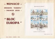 Europa  Lot mit 13 Blocks auf FDC  Monaco Portugal Belgien CEPT  etc.