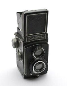 Rollei Rolleicord II Analog TLR Kamera, Carl Zeiss Jena Triotar 3,5 / 7,5 cm o24
