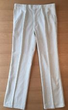 1980s Pleated Striped Eddie Bauer Men's Pants 40 x 33 Usa Nos Blue/White 4
