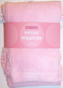 NWT NEW Gymboree Girl's Pink Velour Leggings, Snow Princess, Size 3