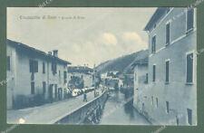 CASALECCHIO DI RENO, Bologna. Canale di Reno. Cartolina d'epoca viaggiata