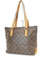 Authentic LOUIS VUITTON Cabas Piano Monogram Shoulder Tote Bag Purse #36765