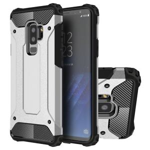 For Samsung Galaxy S9 Plus S8 S7 NOTE 9 8 Hybrid Armour Shock Proof Case Cover