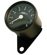 Drehzahlmesser schwarz Honda VT 125 600 750 1100 Shadow VF Mini DZM Tacho NEU