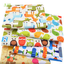 100% Cotton 5 Pieces/lot Fabric Telas Patchwork Fat Quater Bundles For Sewing