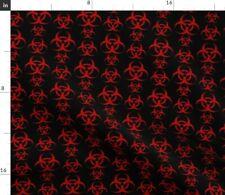 Biohazard Symbol Fabric Printed by Spoonflower Bty