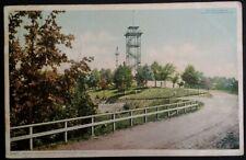 Chattanooga TN Postcard 1902 Missionary Ridge Bragg's Headquarters Horse Buggy